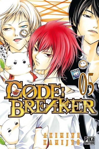 Couverture code : breaker tome 5
