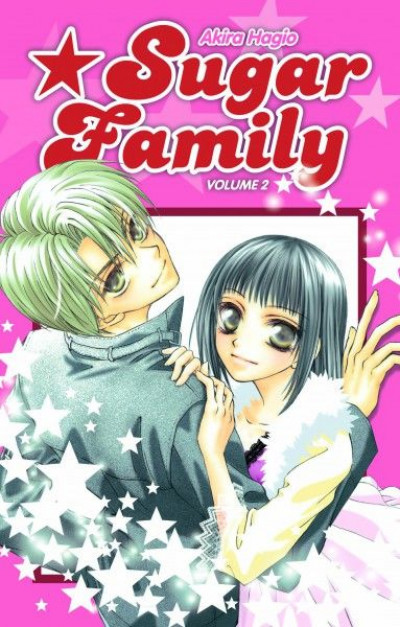 Couverture sugar family tome 2