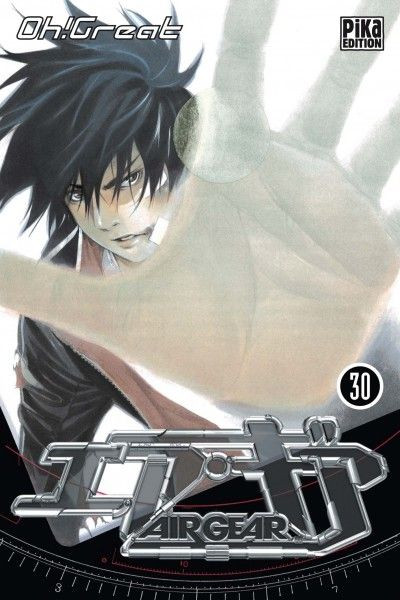 Couverture air gear tome 30