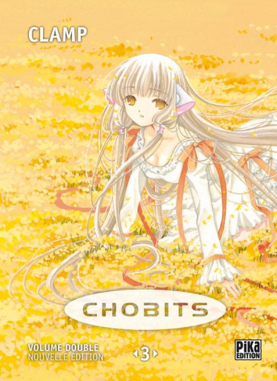 Couverture chobits - volume double tome 3 - tome 5 et tome 6