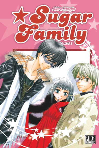 Couverture sugar family tome 3