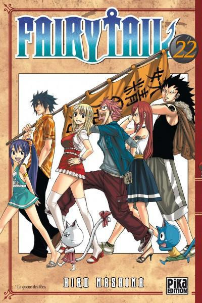 Couverture fairy tail tome 22