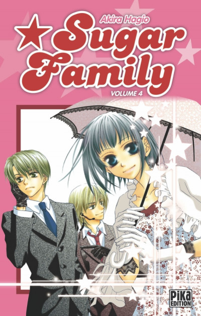 Couverture sugar family tome 4