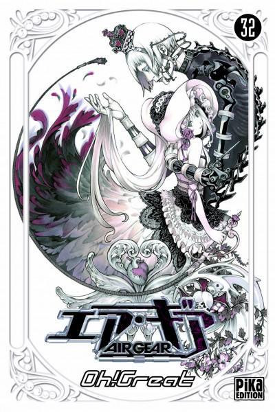 Couverture air gear tome 32