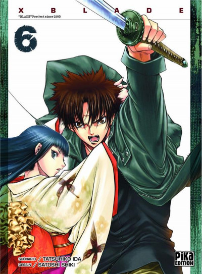Couverture x blade tome 6