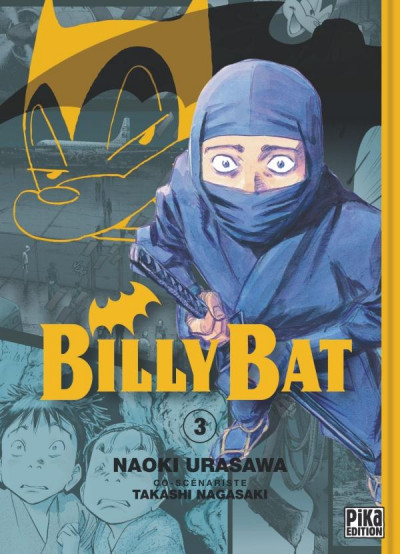 Couverture billy bat tome 3