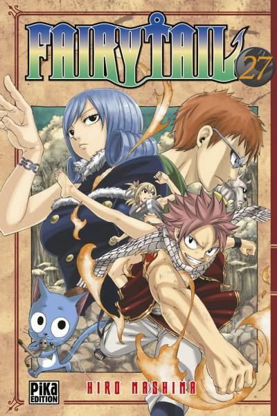 Couverture fairy tail tome 27