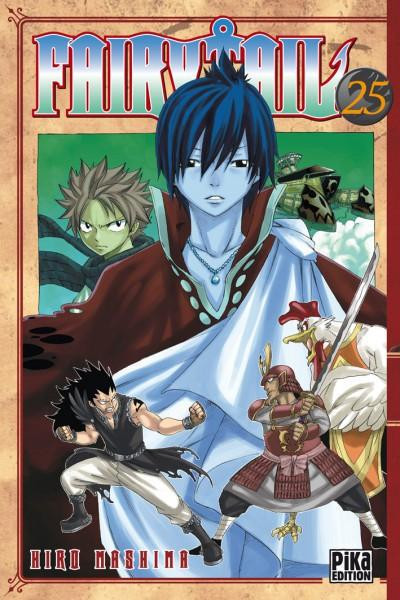 Couverture fairy tail tome 25