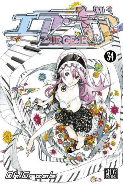 Couverture air gear tome 34
