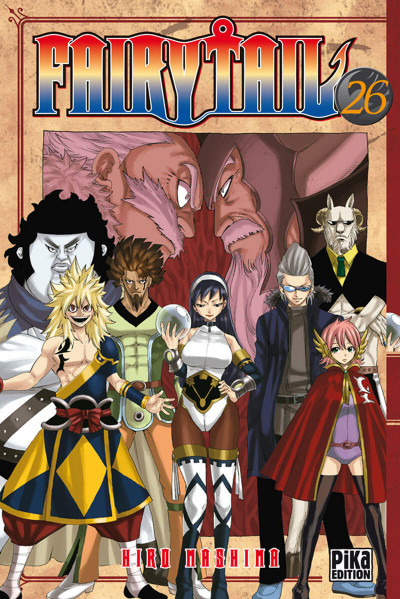 Couverture fairy tail tome 26