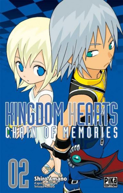 Couverture Kingdom hearts - chain of memories tome 2