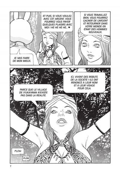 Page 8 Kurosagi, livraison de cadavres t12