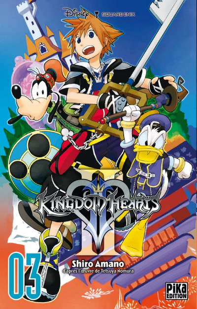 Couverture kingdom hearts II tome 3