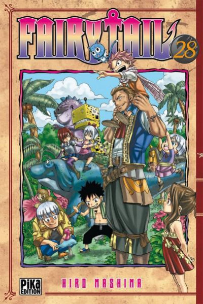 Couverture fairy tail tome 28