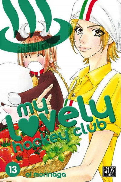 Couverture my lovely hockey club tome 13