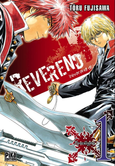 Couverture reverend d tome 1