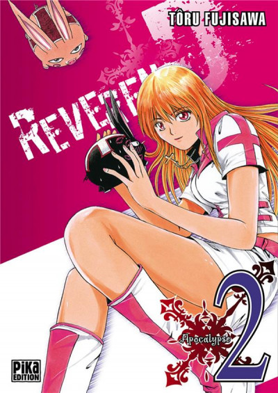 Couverture reverend d tome 2