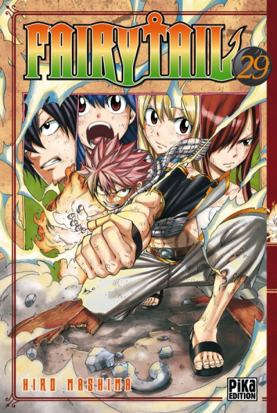 Couverture fairy tail tome 29