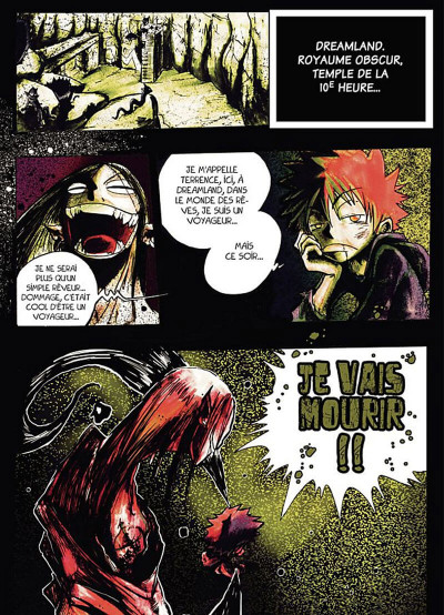 Page 4 dreamland tome 2 - édition 2013