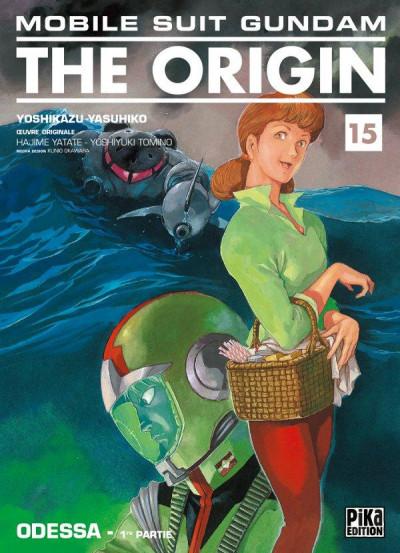Couverture Gundam the origin tome 15