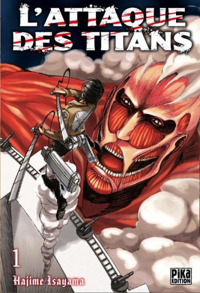 Couverture L'attaque des titans tome 1