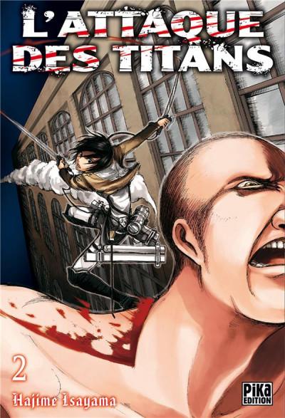 Couverture L'attaque des titans tome 2