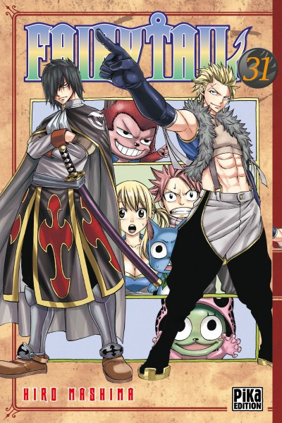 Couverture Fairy tail tome 31