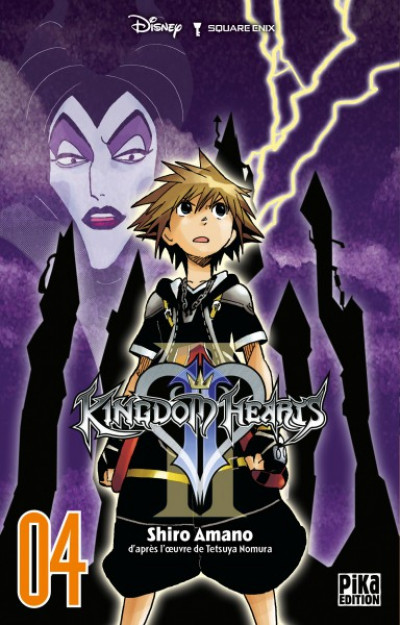 Couverture Kingdom hearts II tome 4