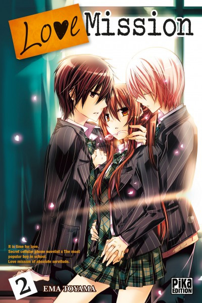 Couverture Love mission tome 2