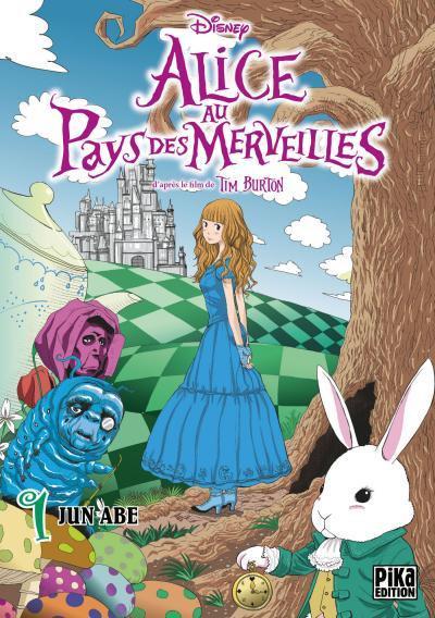 Couverture Alice au pays des merveilles tome 1
