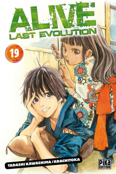 Couverture Alive last evolution tome 19