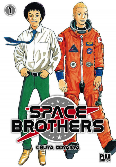 Couverture Space brothers tome 1