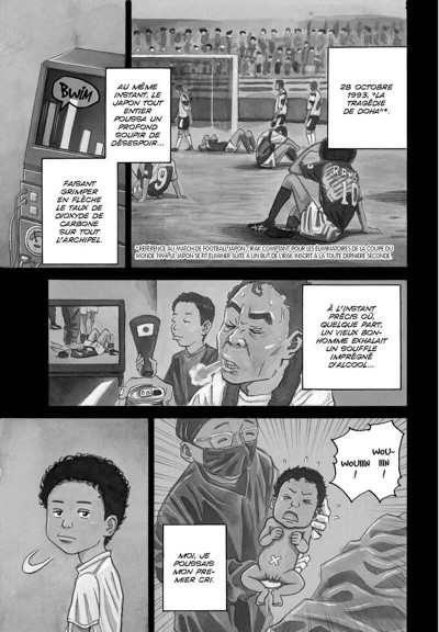 Page 4 Space brothers tome 1