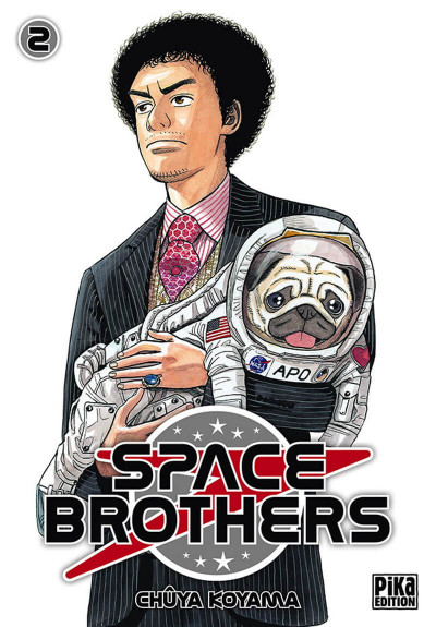 Couverture Space brothers tome 2