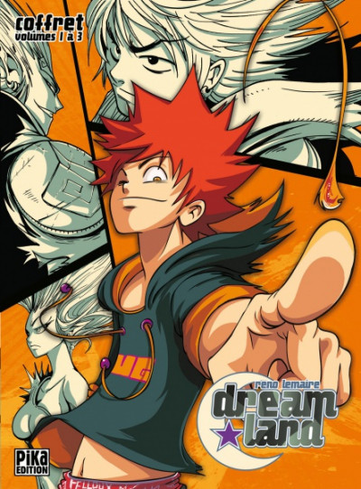 Couverture Dreamland coffret starter (vol1 a 3)