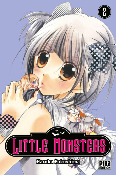 Couverture little monsters tome 2