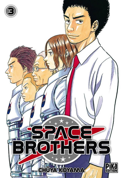 Couverture space brothers tome 3