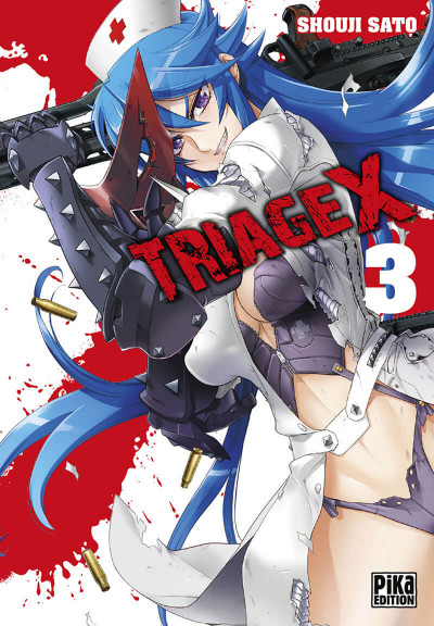 Couverture Triage x tome 3