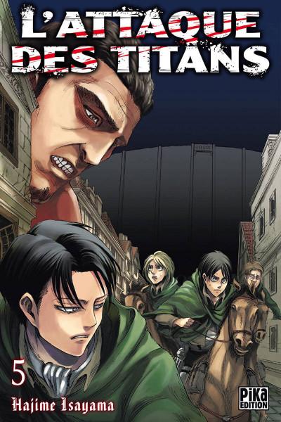 Couverture L'attaque des titans tome 5