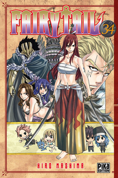 Couverture Fairy tail tome 34
