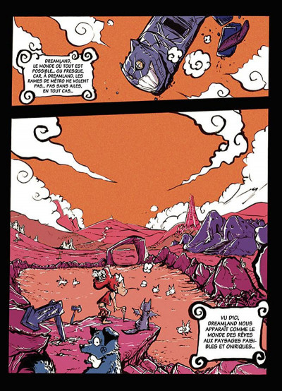 Page 5 dreamland tome 4 - édition 2014