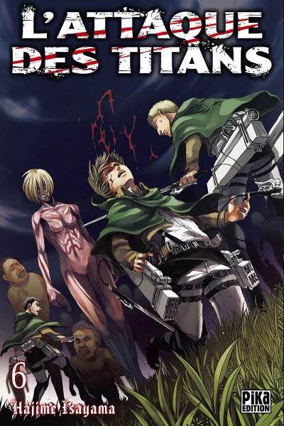 Couverture L'attaque des titans tome 6