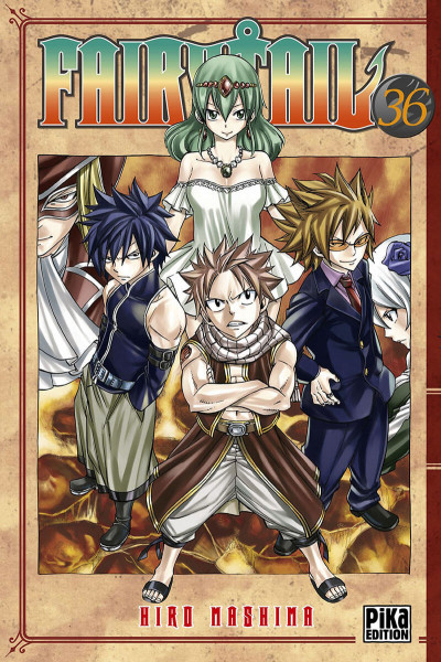 Couverture Fairy tail tome 36