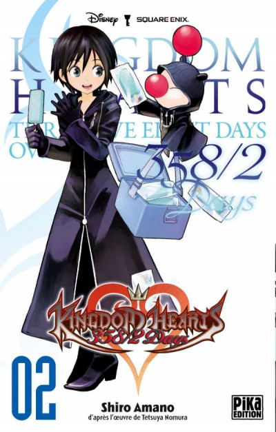 Couverture kingdom hearts 358/2 days tome 2