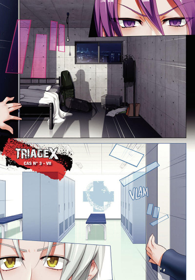 Page 2 Triage X tome 4