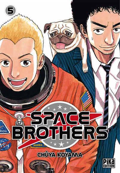 Couverture space brothers tome 5