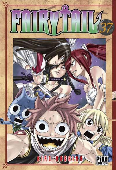 Couverture Fairy tail tome 37