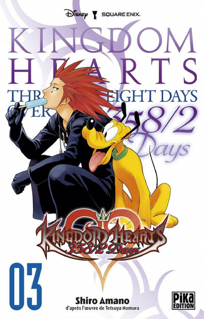Couverture kingdom hearts 358/2 days tome 3