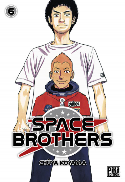Couverture space brothers tome 6