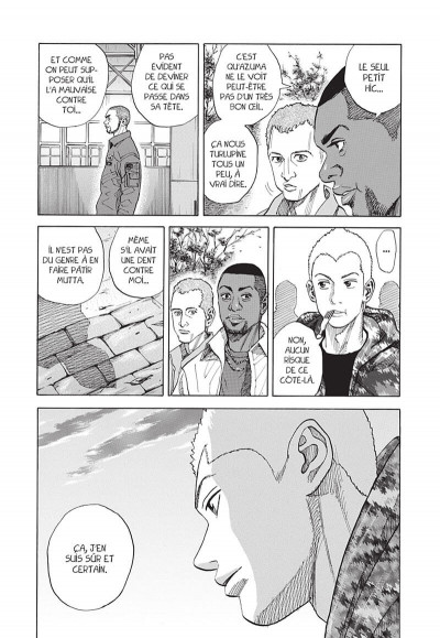 Page 0 space brothers tome 6